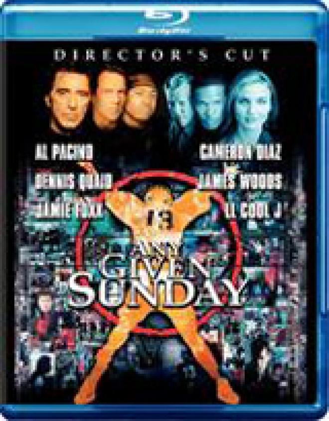 Any Given Sunday [Blu-ray Box Art]