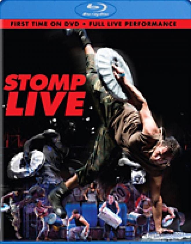 Stomp Live [Blu-ray Box Art]