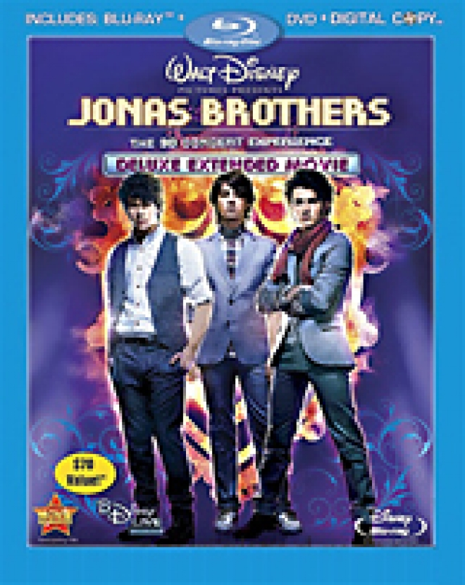 Jonas Brothers; The 3-D Concert Experience