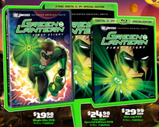Green Lantern: First Flight [Trade Ad]