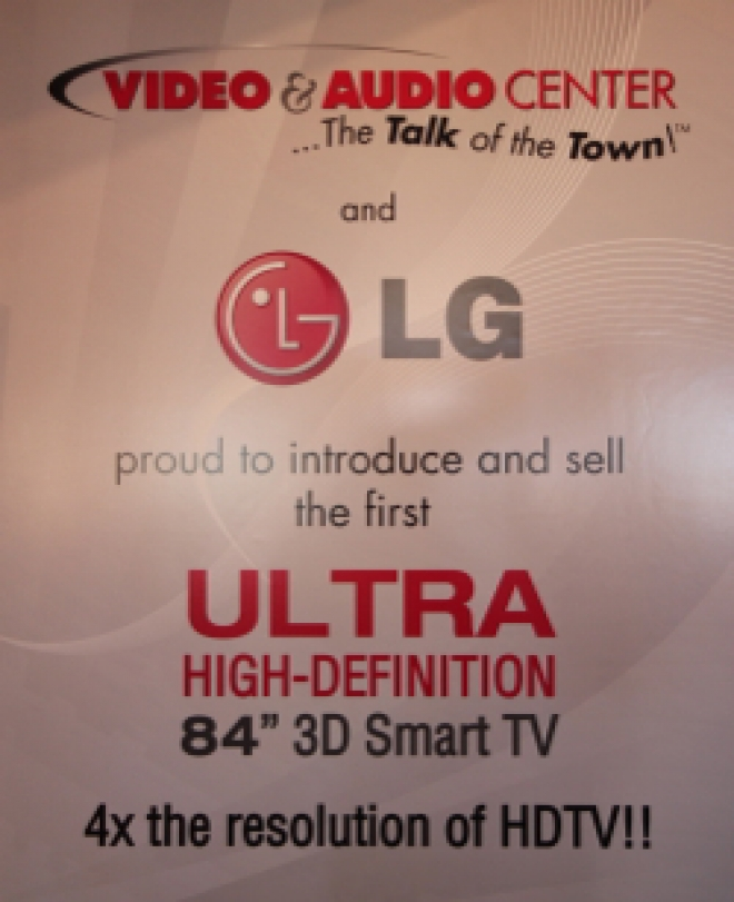 LG introduces Ultra-HD TV