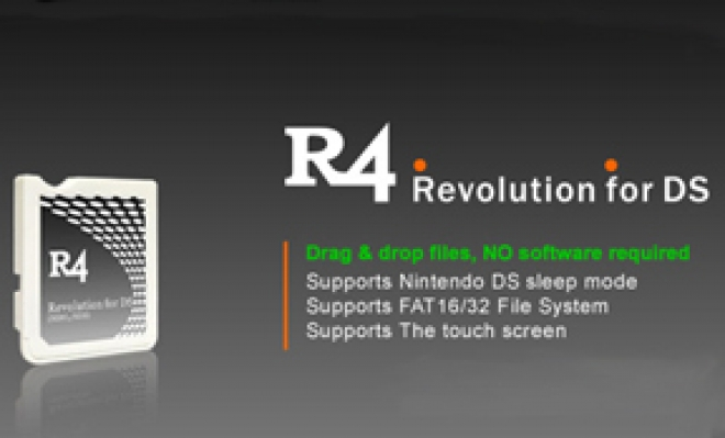 The R4 Flashcart for the DS
