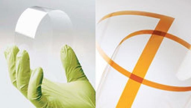 Flexible Glass Displays