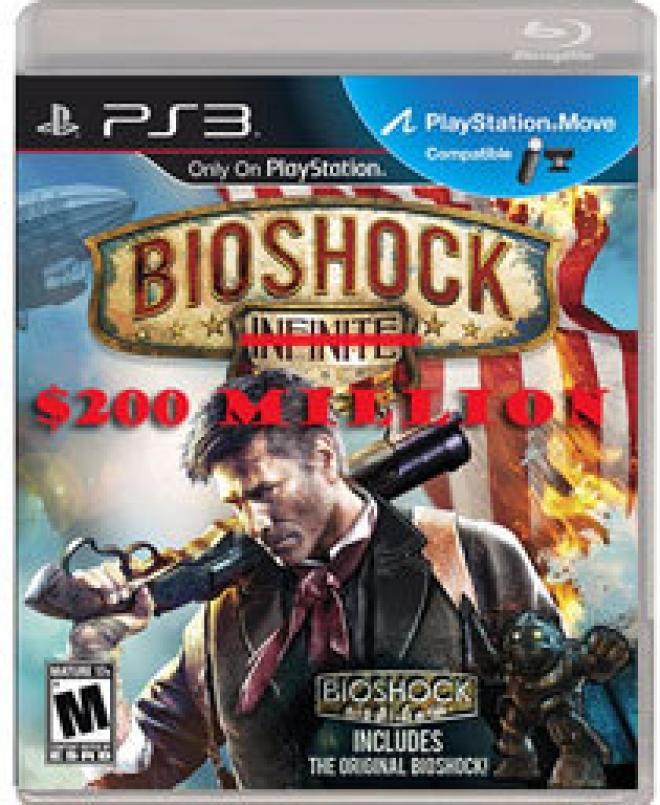 BioShock $200 Million
