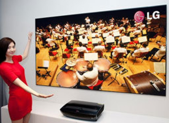 LG Laser TV Projector