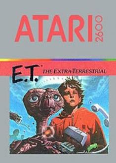 E.T. for the Atari 2600