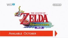 Wind Waker in HD for the Wii U