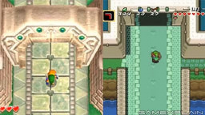 The Legend of Zelda: A Link to the Past 2 Comparison
