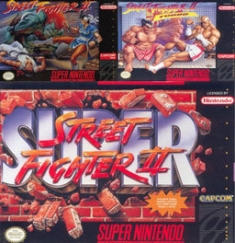 Street Fighter II on the SNES