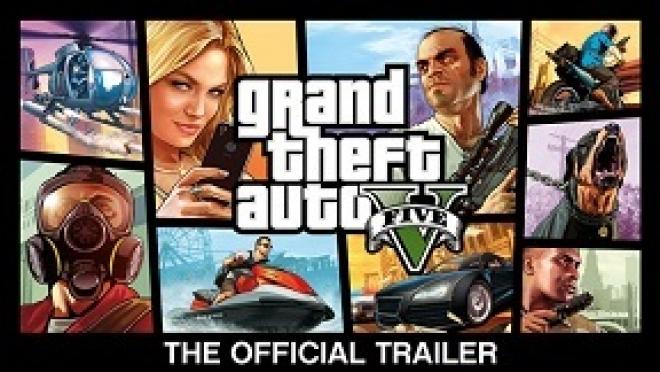'Grand Theft Auto V' Official Trailer
