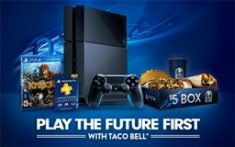 Taco Bell Play the Future First PS4 Prize Pack