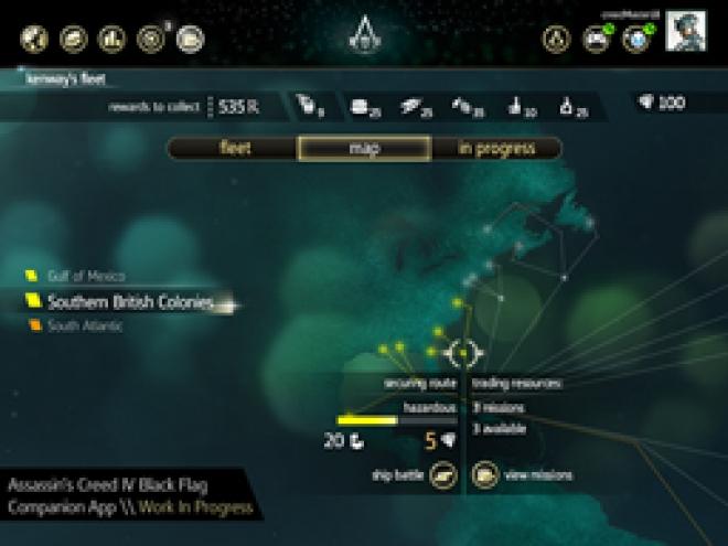 Assassin's Creed IV: Black Flag companion app