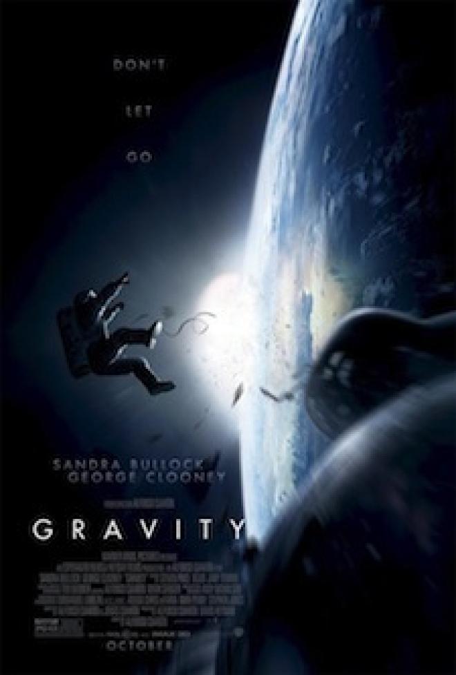 'Gravity' (2013) movie poster