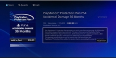 PS4 Accident Coverage
