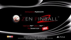 Zen Pinball 2 for the PS4