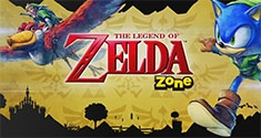 The Legend of Zelda Zone from Sonic Lost World