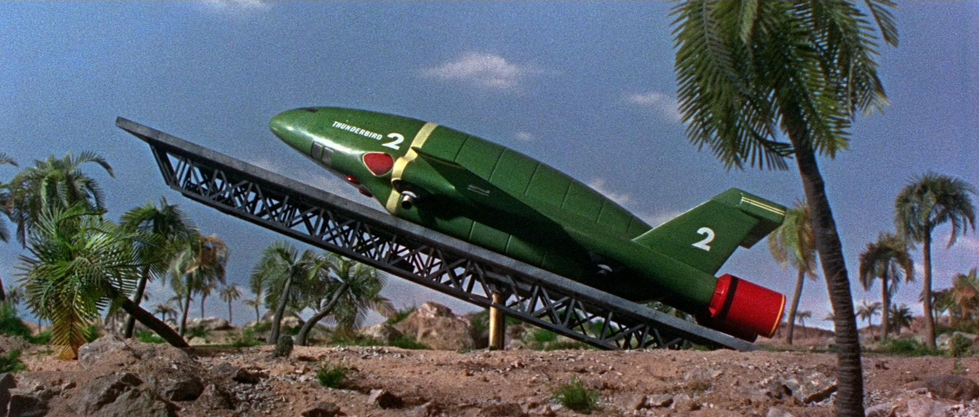 Thunderbird 6 Cartoon Characters : Thunderbirds are go thunderbird blu ray review high