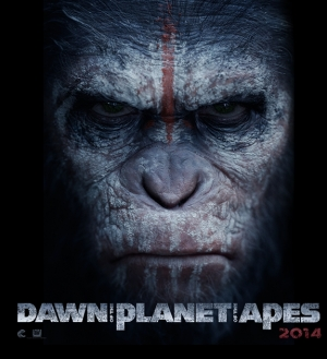 'Dawn of the Planet of the Apes' poster