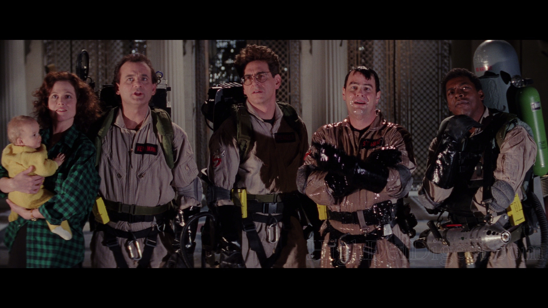 a review of the film ghostbusters produced in 1984