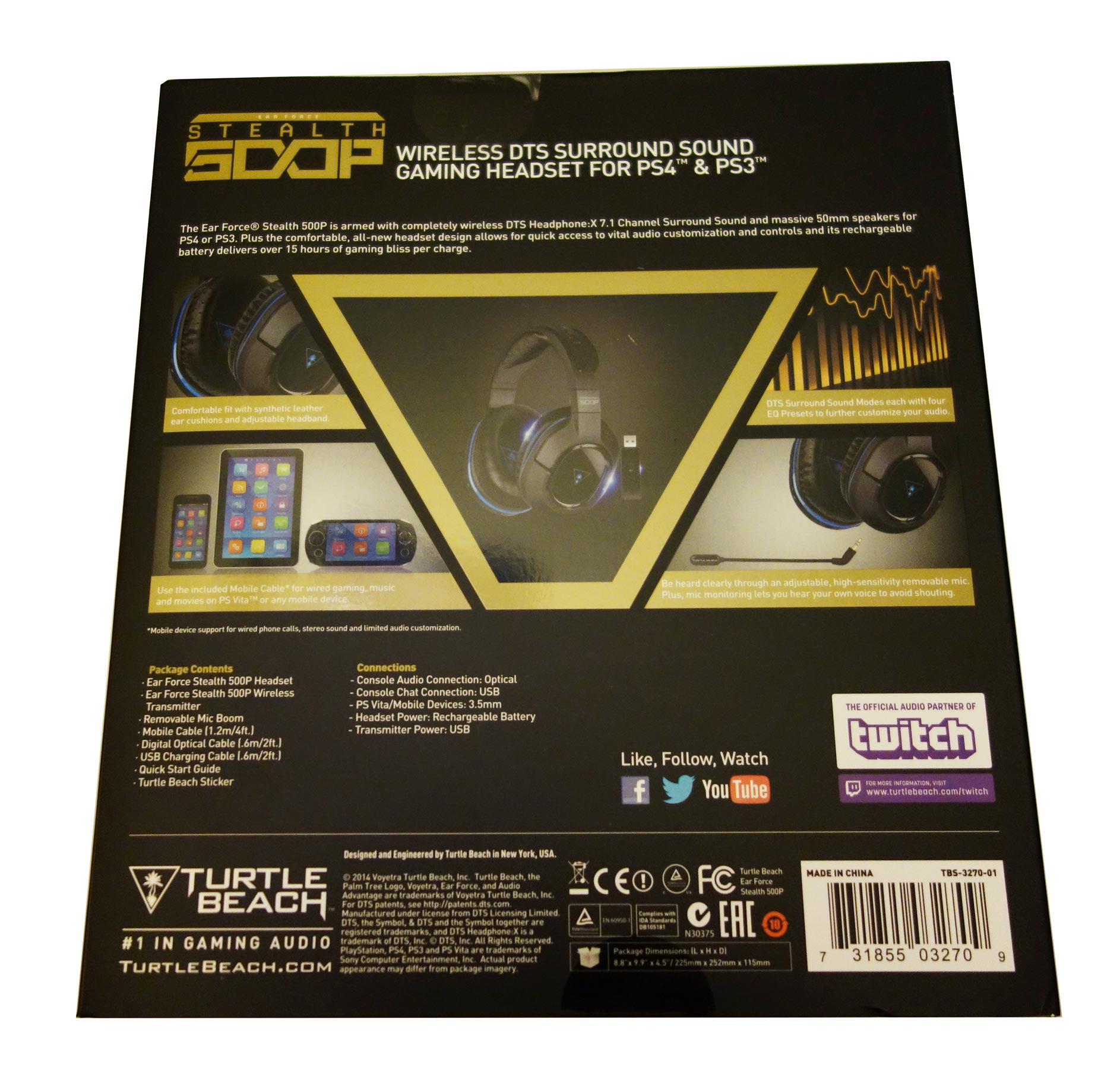Turtle Beach Ear Force Stealth 500P (PS4) Review | High ...
