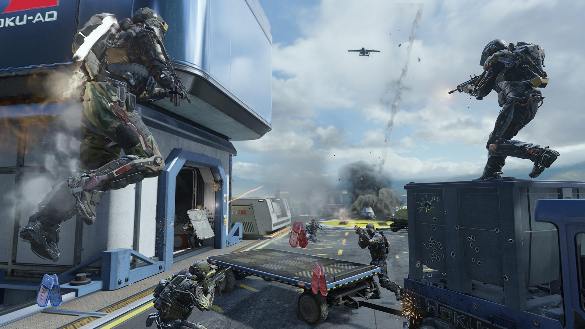 Call of Duty Advanced Warfare игра оружие война анонимно
