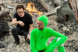 James Gunn, co-writer/director of 'Guardians of the Galaxy' with brother, actor Sean Gunn