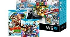 Wii U with Mario 3D World, Super Smash, Tropical Freeze & Nintendo Land deal