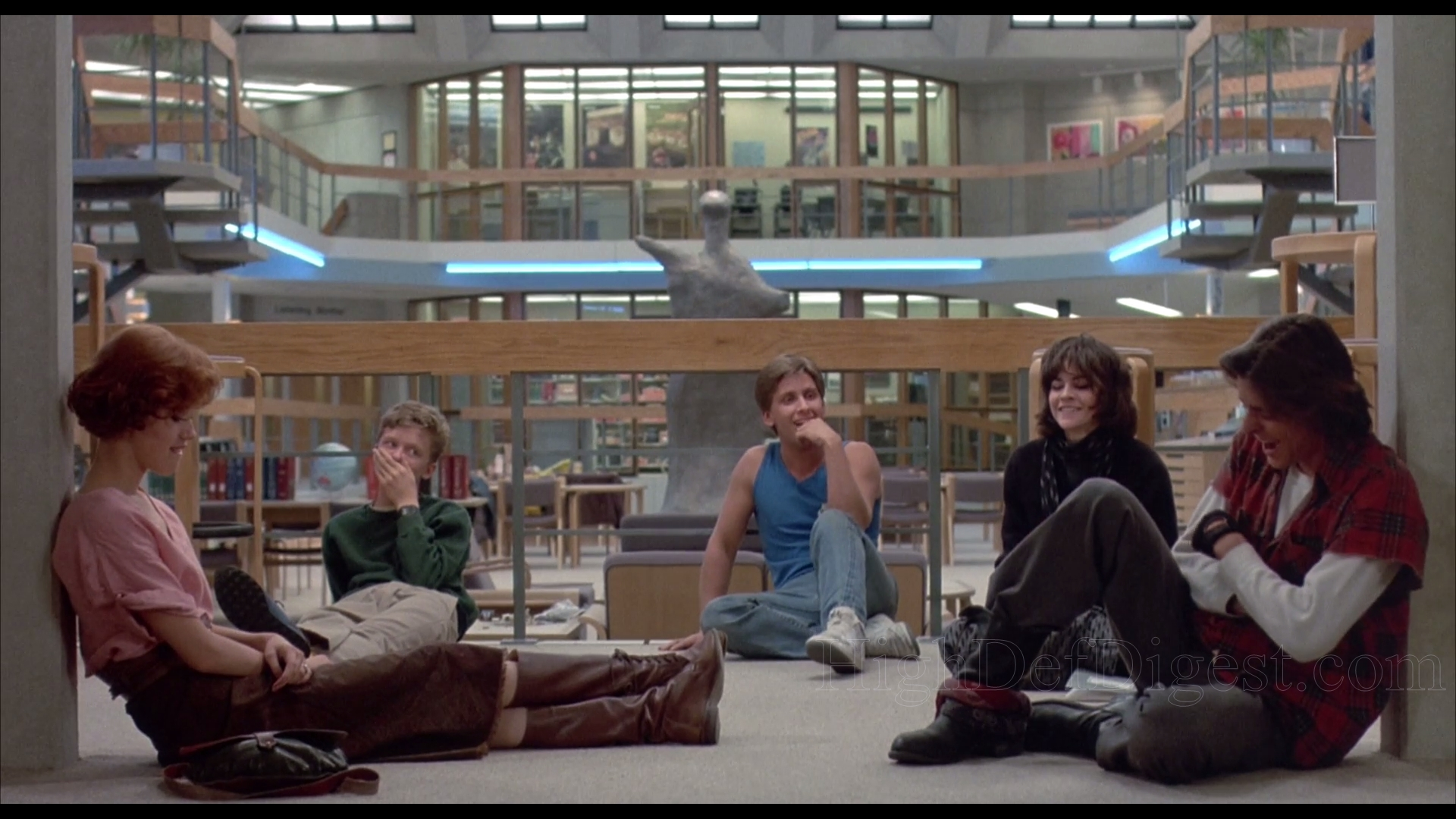 the breakfast club film review essay The breakfast club, written and directed by john hughes in 1985, is an american teen drama one of the most influential movies of its time the breakfast club was named the best high school movie of all time by entertainment weekly in 2006.