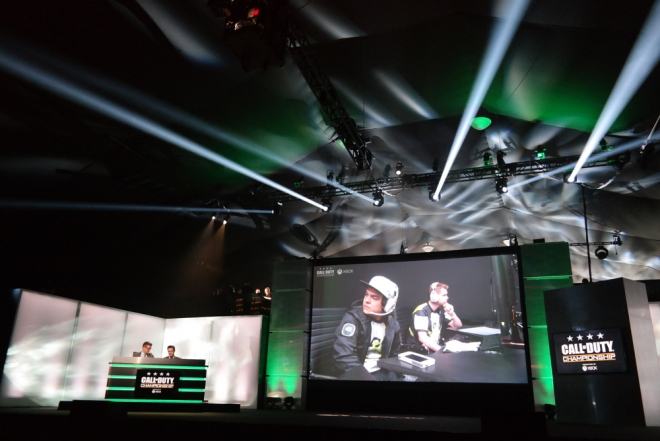 Call of Duty Championship 2015 Xbox Live Stage