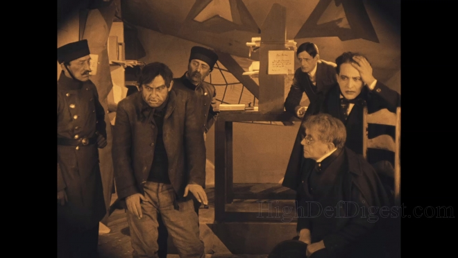 The Cabinet of Dr. Caligari Blu-ray Review | High Def Digest on