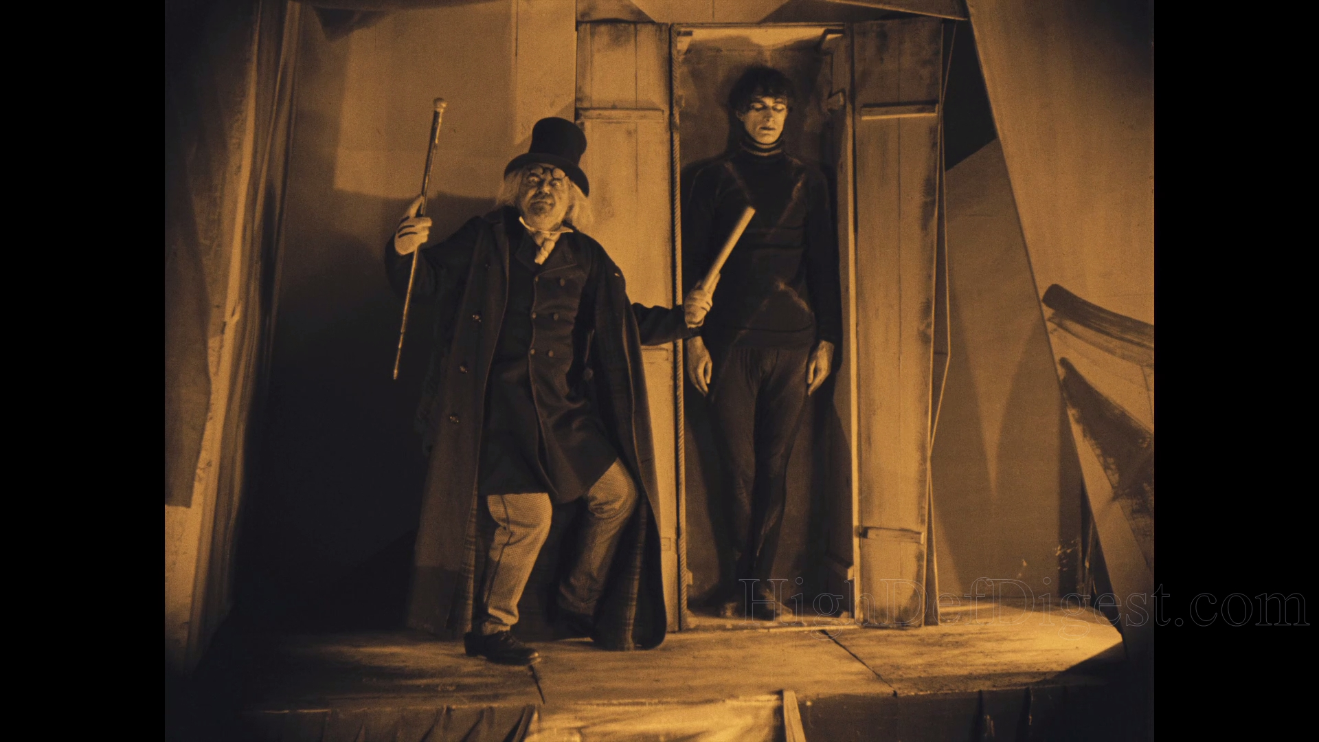 an analysis of the movie the cabinet of dr caligari The cabinet of dr caligari: the cabinet of dr caligari, german silent horror film, released in 1920, that is widely considered the first great work in the genre it also was the first film.