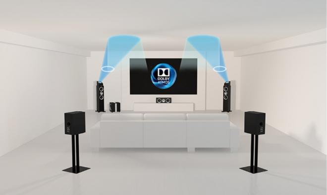 Kef R50 Dolby Atmos Speaker Module Review High Def Digest