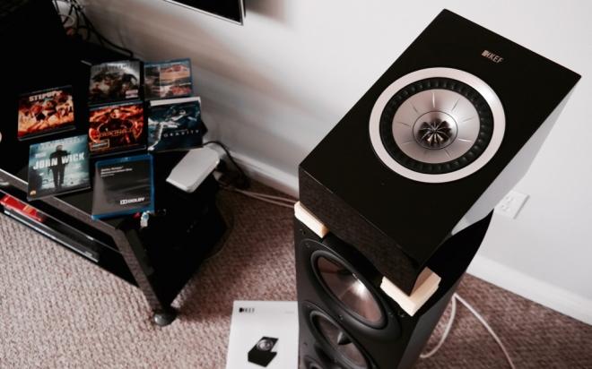Kef R50 Dolby Atmos Speaker Module Gear Review High Def