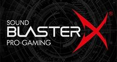 Sound BlasterX Gaming Audio News Creative
