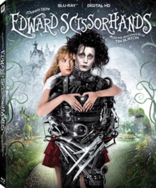 Edward Scissorhands 25th Anniversary Edition Blu Ray Review High