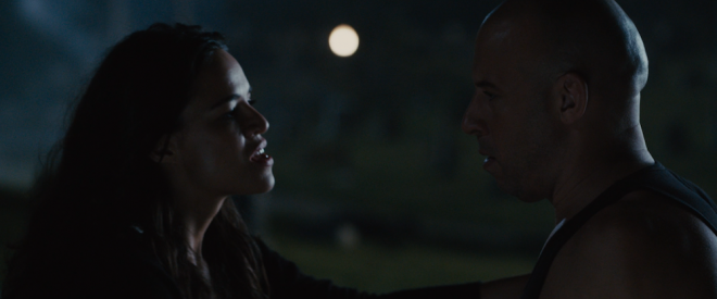 'Furious 7' -- Letty & Dom
