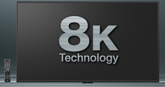 sharp 8k display