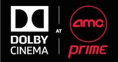Dolby Cinema at AMC Prime logo