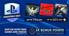 PlayStation Essentials Sale news