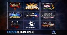 EVO 2016 Lineup Announced
