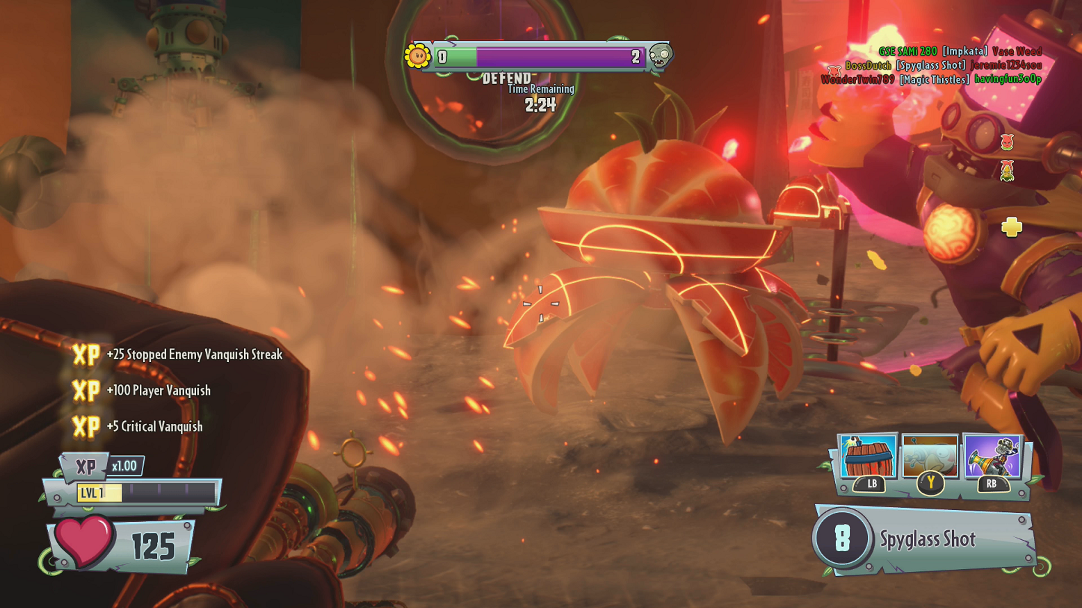 Plants vs. Zombies: Garden Warfare 2 (Xbox One) Review | High-Def Digest