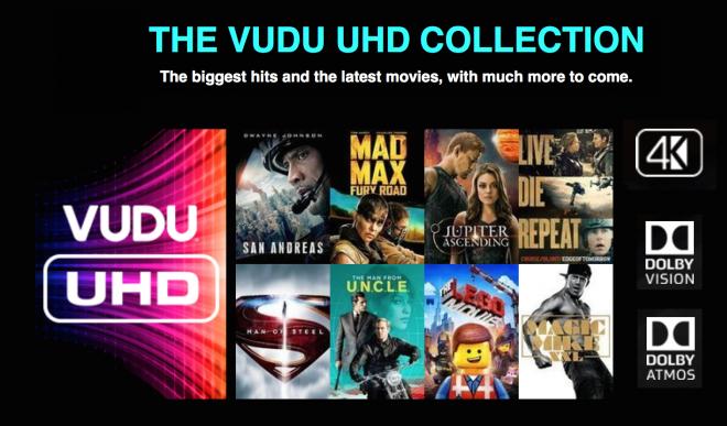 VUDU UHD Collections