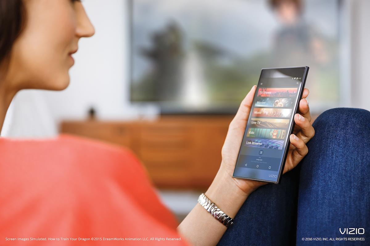 VIZIO P-Series tablet remote