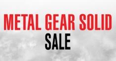 Metal Gear Solid Sale news