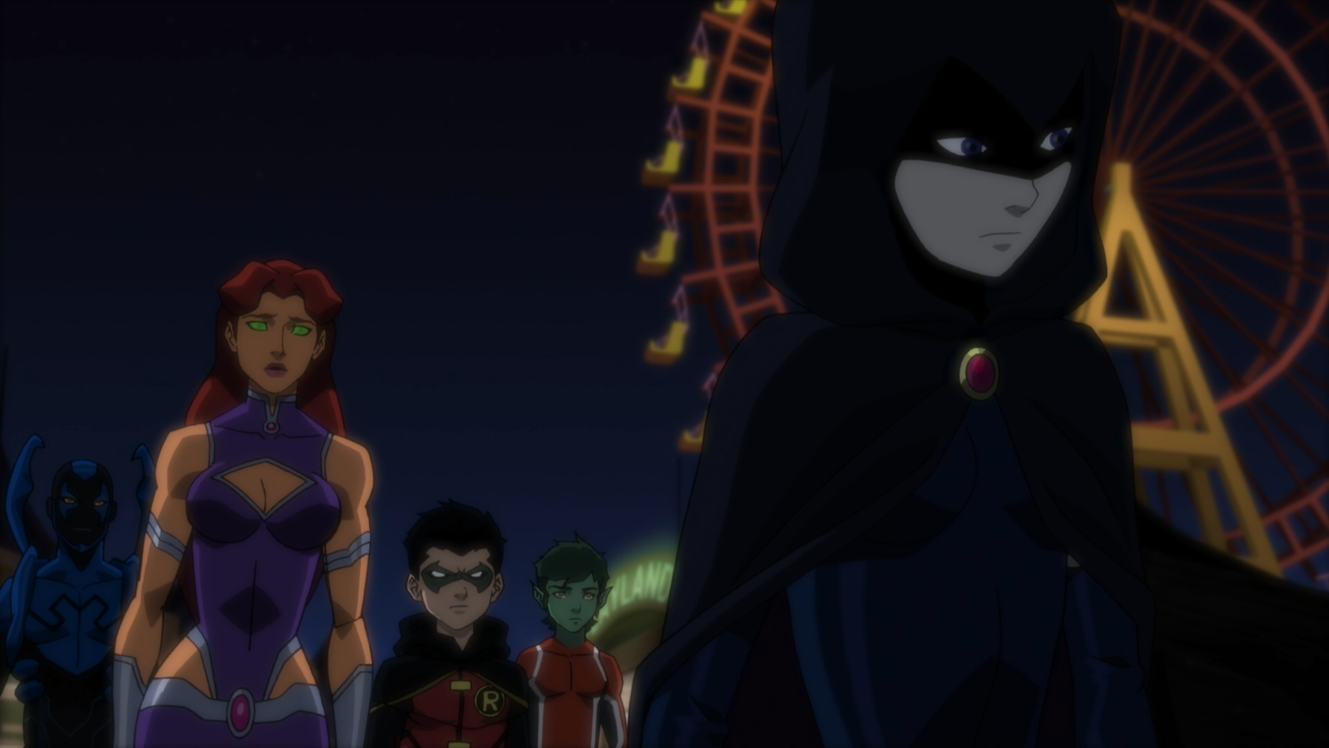 Justice League Vs Teen Titans Blu-Ray Review  High Def Digest-7271