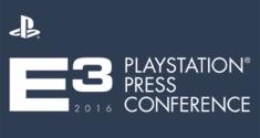 E3 2016 PlayStation Press Conference news