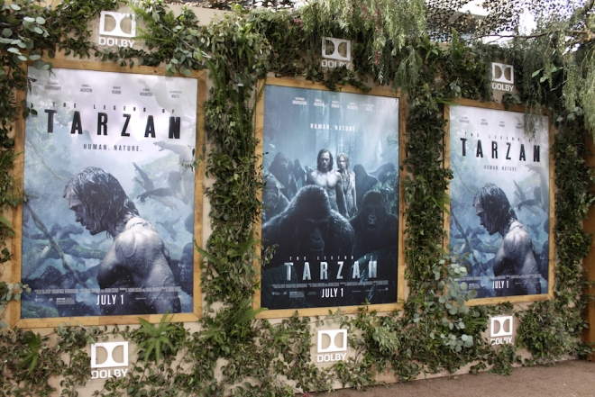 Tarzan and Dolby posters