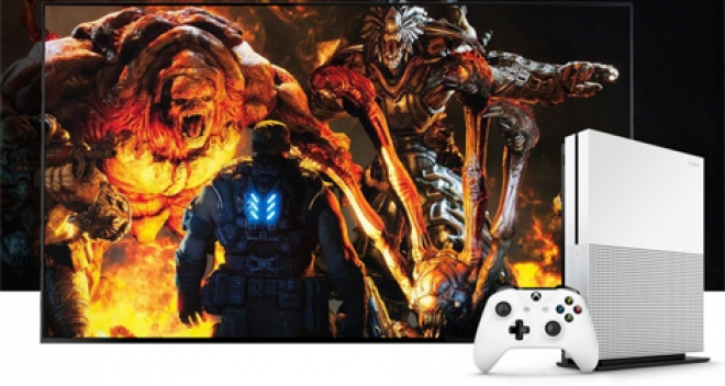 Xbox One S Gears 4 HDR news