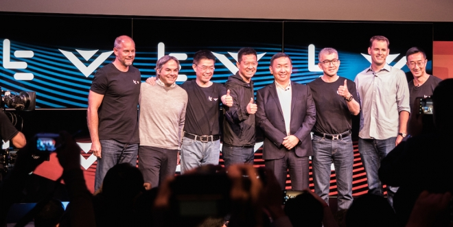 LeEco VIZIO Press Conferene
