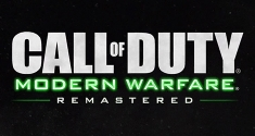 Call of Duty Modern Warfare Remastered news title